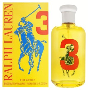 Ralph Lauren THE BIG PONY COLLECTION # 3 EDT Spray ~ 3.4 oz / 100ml
