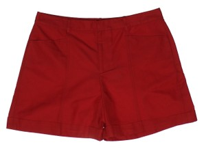 Ralph Lauren Black Label Dress Shorts Red