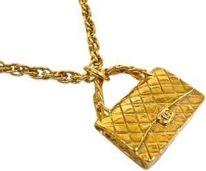 Chanel Chanel Matelasse Flap Bag Pendent Necklace