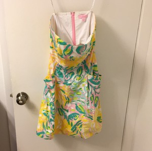 Lilly Pulitzer short dress Yellow, pink, blue, green on Tradesy