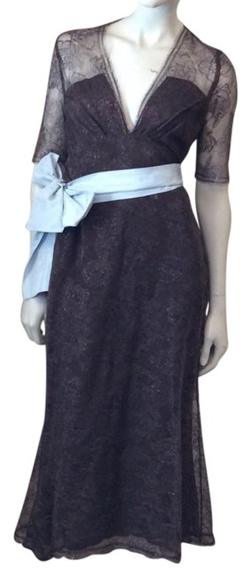 Preload https://img-static.tradesy.com/item/16523746/yigal-azrouel-brown-knee-length-night-out-dress-size-10-m-0-1-650-650.jpg