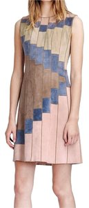 Tory Burch short dress Light pink, blue, tan Elizabeth And James Haute Hippie Dvf Zimmermann Isabel Marant on Tradesy