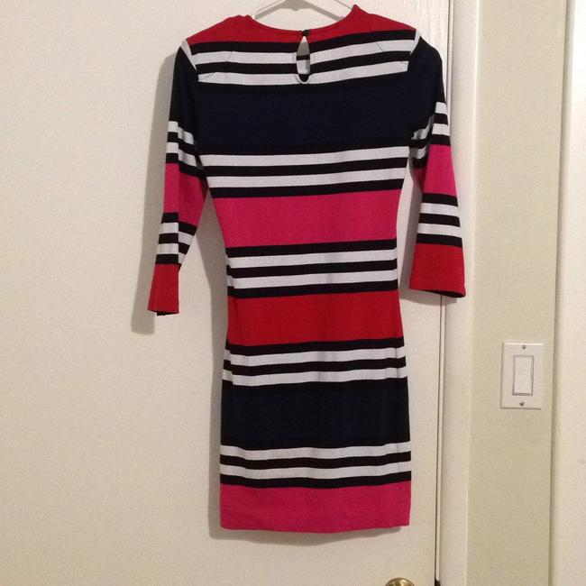 French Connection short dress Navy, white, pink, red on Tradesy Image 1