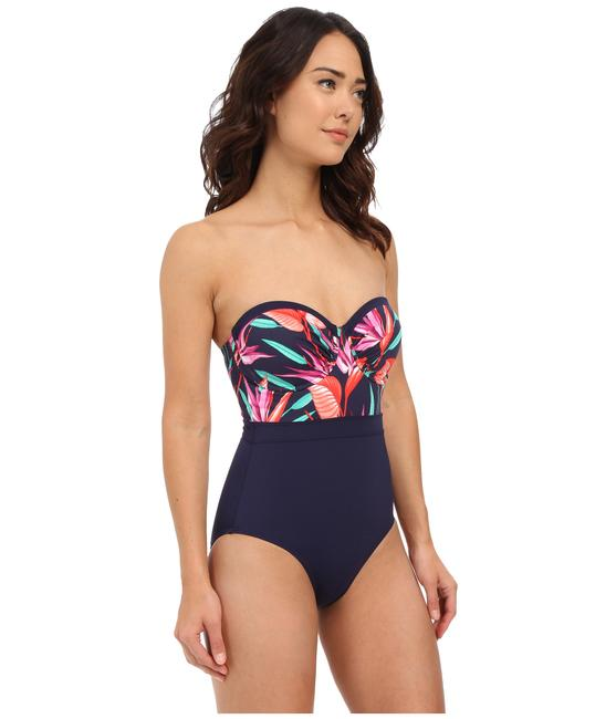 Tommy Bahama Tommy Bahama Bird Paradise Underwire Cup One Piece Mare Navy Size 10 Image 2