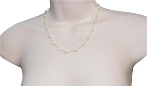 EFFY EFFY 14K GOLD FRESH WATER PEARL STATION CHAIN NECKLACE