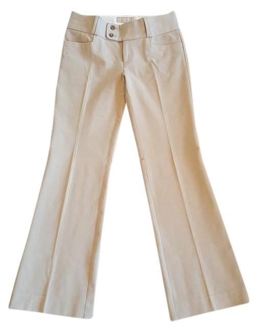 Banana Republic Flare Pants Beige Image 0