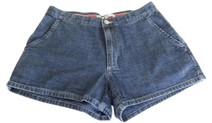 Tommy Hilfiger Retro High Waisted Denim Tommy Jeans Mini/Short Shorts Denim Blue