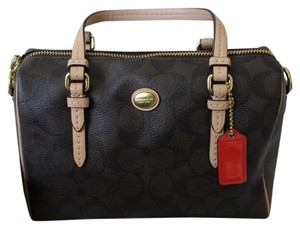 Coach Leather Peyton Cross Body Bag