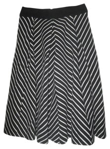 Philosophy Republic Skirt Black/White Striped