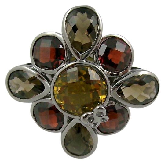 Preload https://img-static.tradesy.com/item/16524913/sima-k-honey-quartz-smoky-quartz-garnet-1355ct-sterling-flower-size-5-ring-0-1-540-540.jpg