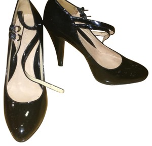Nine West Patent Leather Heels Black Pumps