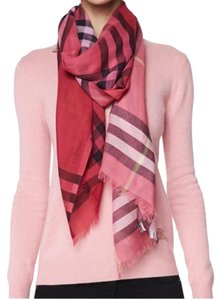 Burberry Burberry Multi Pink Shades Long Scarf Shawl