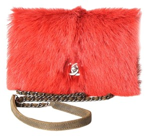 Chanel Mink Fur Brown Aged Cross Body Bag