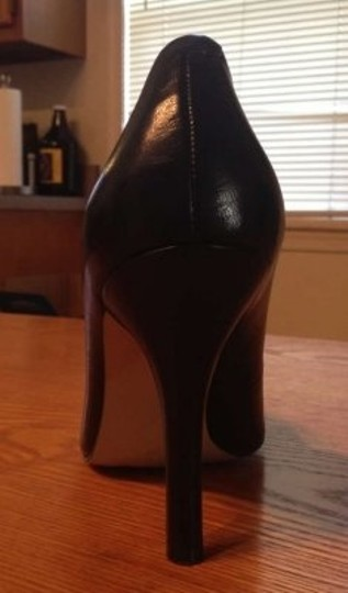 Nine West Martina Leather Black Pumps