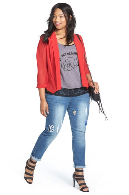 City Chic Skinny Jeans Image 2