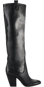 Vince Camuto Leather Tall Black Boots