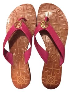 Tory Burch Summer Sandal Leather Pink Sandals