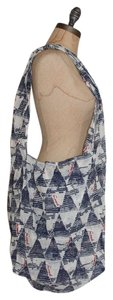 Free People Printed Gauze New No Tags Tote in blue