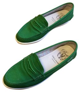 Cole Haan Green Loafers Boat Comfortable Jade Athletic