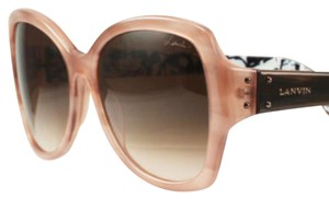 Lanvin SLN 553 09Y3 Streaked Pink And Peach