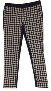 MICHAEL Michael Kors Capri/Cropped Pants Houndstooth & Navy