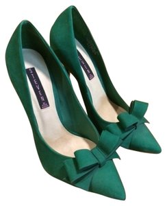 Steven by Steve Madden Flirty Fun Colorful Teal Pumps