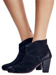 Free People Black Suede Boots