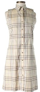 Burberry Signature Plaid Shift Sheath Dress