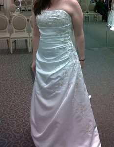 David's Bridal V9665 Wedding Dress