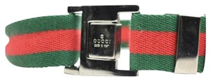 Gucci Web Stripe Adjustable Fastened Belt GGTY13