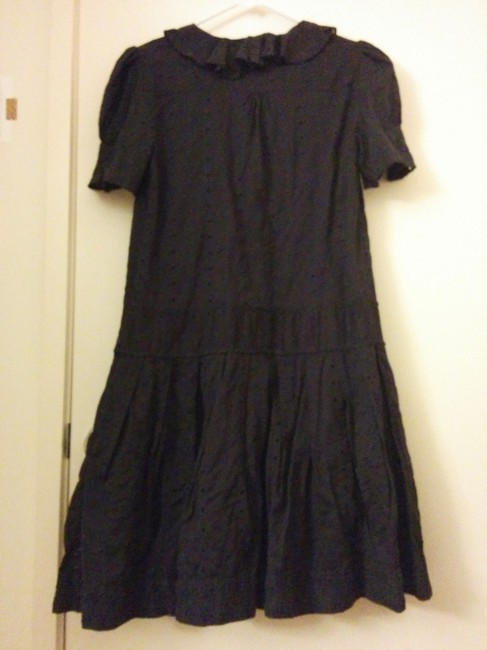 Marc by Marc Jacobs short dress Navy Blue Drop Waist Eyelet on Tradesy