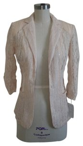 Alberto Makali Sequin Lace Pink Pale Pink Blazer