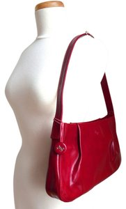 High Gloss Patent Shoulder Bag