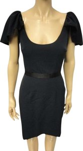 Jay Godfrey Kim Kardashian Fitted Cap Sleeve Dress