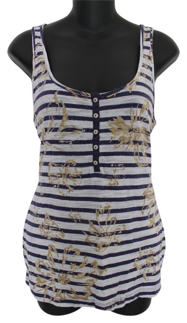 Preload https://img-static.tradesy.com/item/16528783/banana-republic-multi-color-floral-meets-stripes-scoop-neck-s-purple-white-tank-topcami-size-6-s-0-2-650-650.jpg