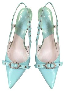 Dior Light teal blue Pumps