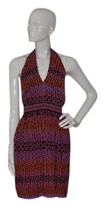 Trina Turk Halter Sils Sleeveless Dress