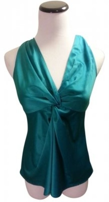 Preload https://item4.tradesy.com/images/ann-taylor-teal-sexy-silky-blouse-size-petite-0-xxs-165303-0-0.jpg?width=400&height=650