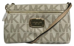 Michael Kors Jet Set Item Wristlet in Vanilla PVC
