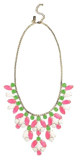 Preload https://item3.tradesy.com/images/kate-spade-12k-gold-pink-green-white-statement-marquee-fun-flirty-cute-plated-necklace-1653067-0-1.jpg?width=440&height=440