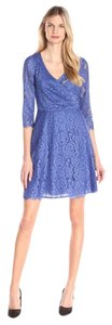 Adrianna Papell Mother Of The Bride Lace 3/4 Sleeves Dress