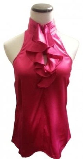 Preload https://item1.tradesy.com/images/express-pink-glamourous-silk-ruffle-blouse-size-4-s-165310-0-0.jpg?width=400&height=650