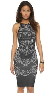 Free People Jacquard Bodycon Dress