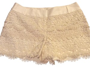 Ann Taylor LOFT Dress Shorts Ivory
