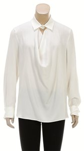 Escada Button Down Shirt Off White