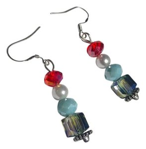 Other New Crystal Earrings Handmade J2680 Summersale