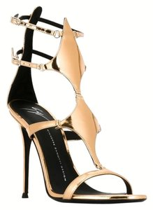 Giuseppe Zanotti Brand New In Box GOLD Sandals
