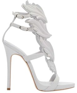Giuseppe Zanotti Brand New In Box LIGHT GRAY Sandals