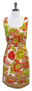 Trina Turk short dress Multi Color Floral Silk on Tradesy