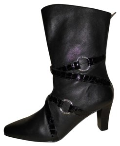 Brighton Leather black Boots